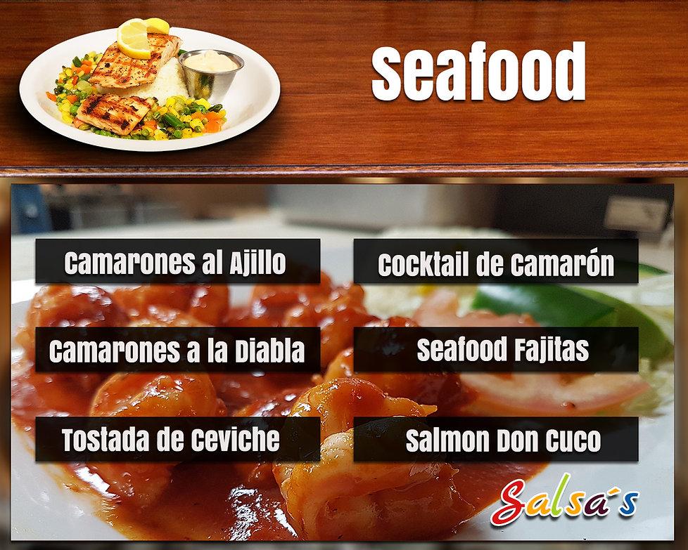 SEAFOOD salsa's