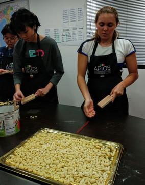 Italian pasta making class for kids