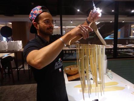 Handmade pasta class in Singapore