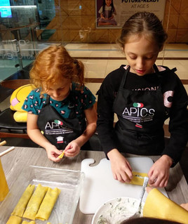 Handmade pasta learning