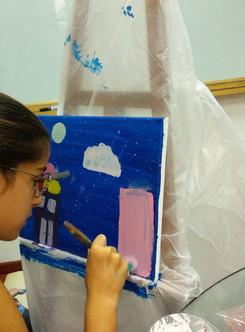 Creative art camp for kids