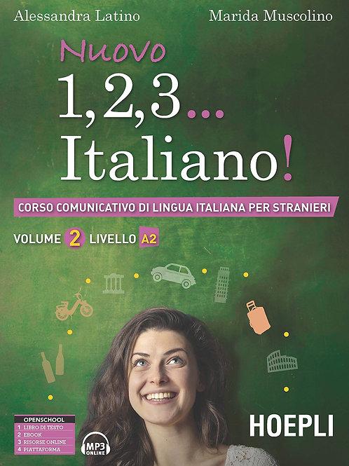 Level A2 Nuovo 1,2,3 Italiano A2