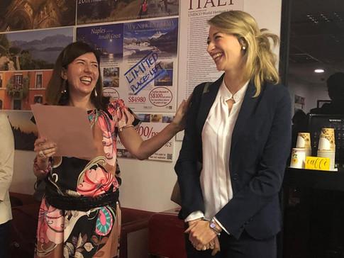 Rossella Gentile and Cecilia Sava