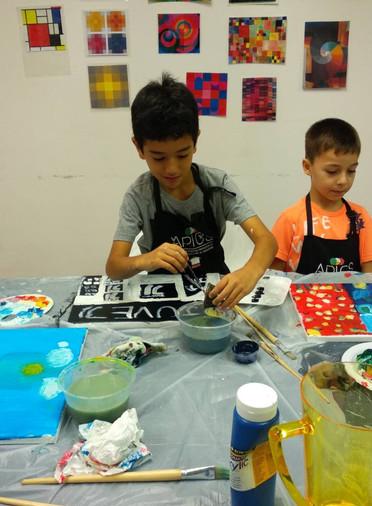 Kids art camp Singapore