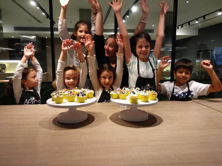 Fun kids cooking camp in Singapore