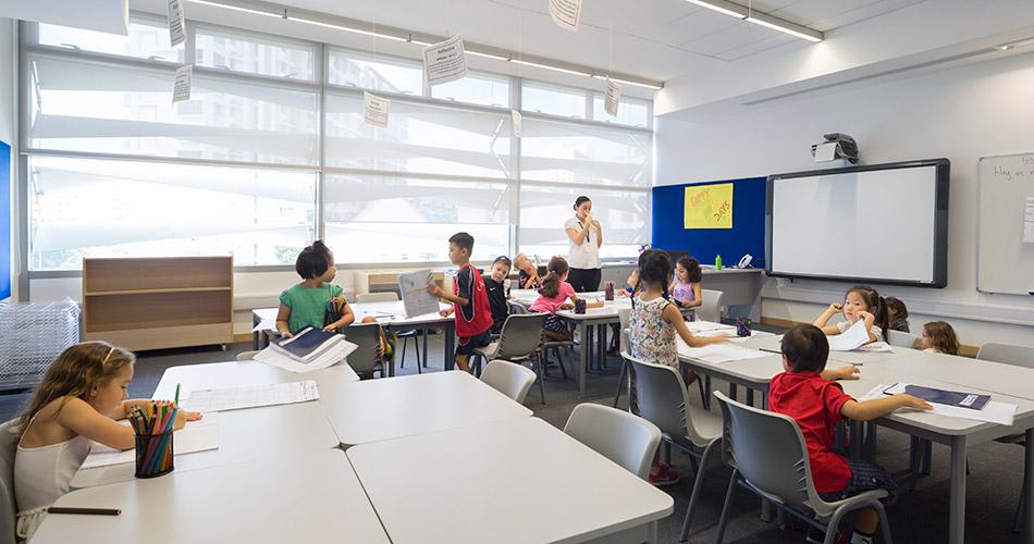 Classi Italiano a Singapore. Photo: SAIS