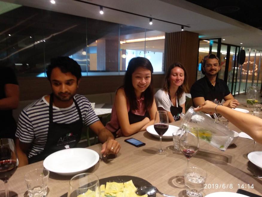 Group Italian cooking class Singapore.jp