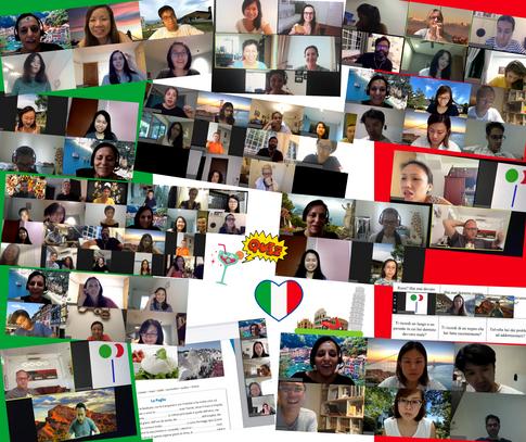 Online Italian language school