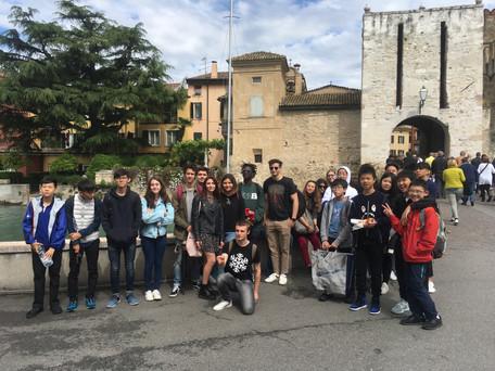 International school exchange experience in Italy