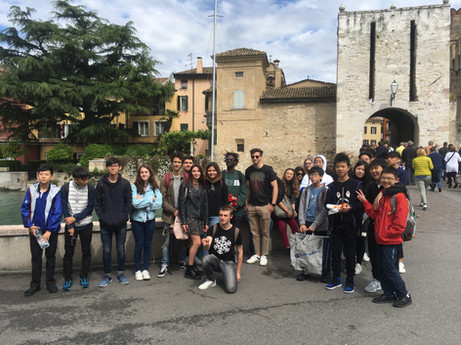 International school exchange experience in Italy