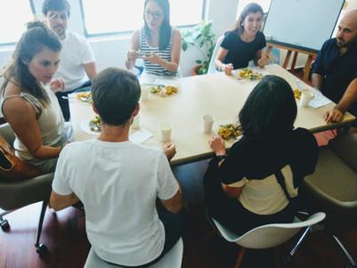 Italian group social lunch