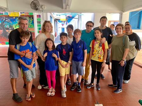 First day new school year Italian school