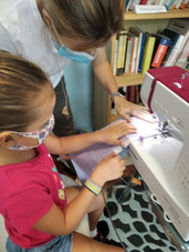 Kids sewing class in Singapore