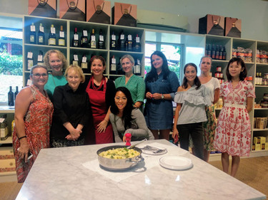 Italian cooking class in Singapore