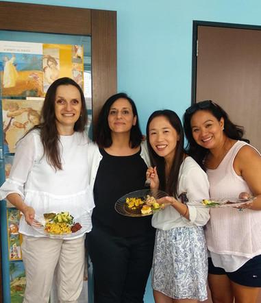 Fun Italian social lunch at APICS