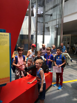 Italian school educational trip