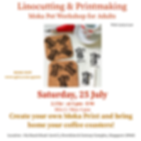 Art workshop for adults Singapore