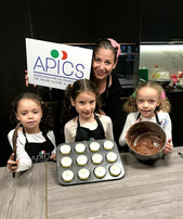 Kids cooking camp with APICS