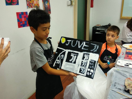 Kids art camp in Singapore