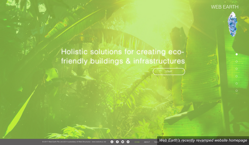 Web Earth launches revamped website