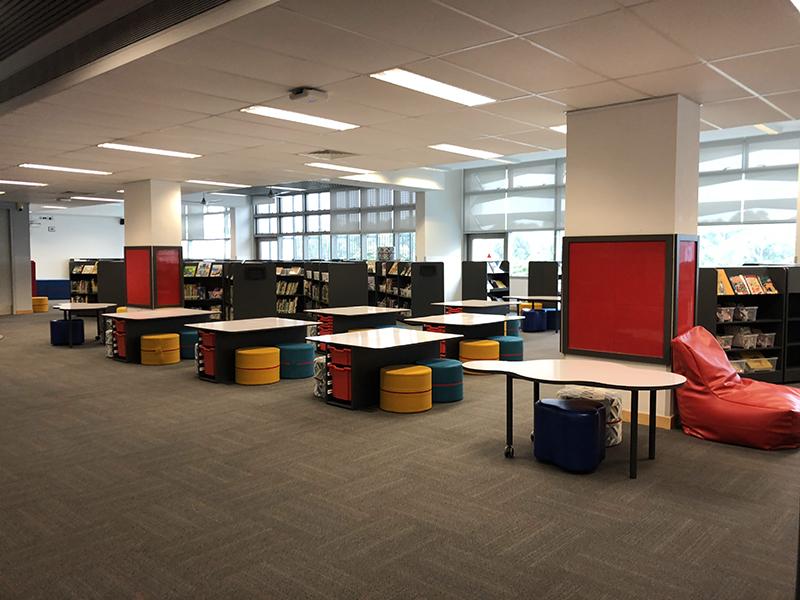 Scuola Italiana Library. Photo: SAIS
