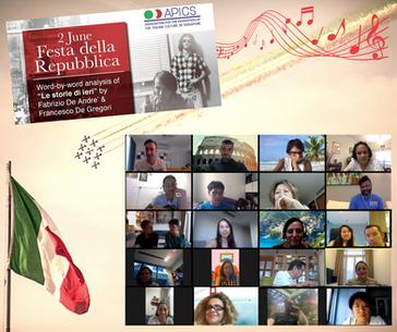 Italian cultural event online