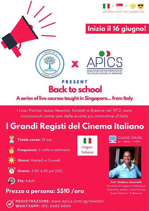 Online Italian Cinema Course