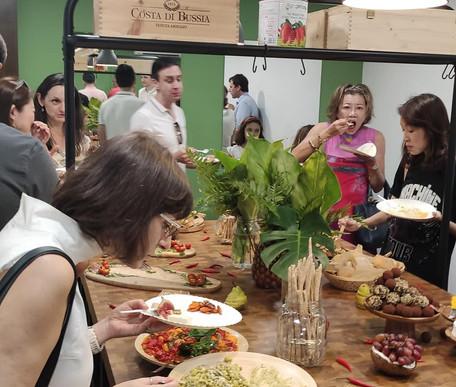 Italian social lunch Singapore
