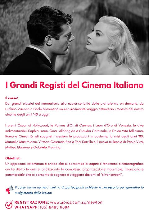 Italian Cinema Course Online
