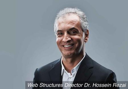Dr Hossein Rezai receives the President's Design Award 2016