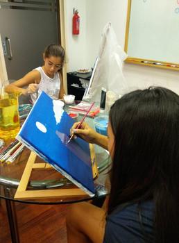 Kids artistic camp in Singapore