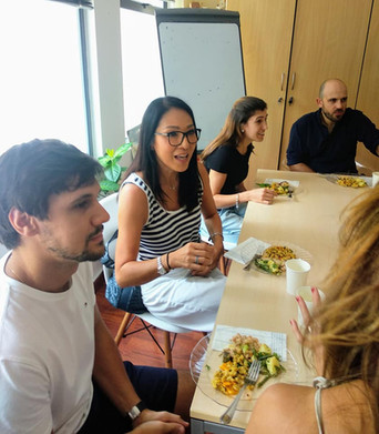 Yummy social lunch