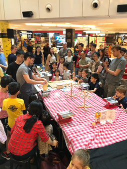 Masterchef cooking with kids
