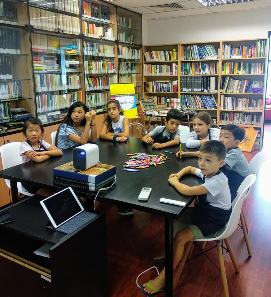 Kids creative art camp Singapore