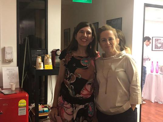 Cecilia Sava and Debora Langella