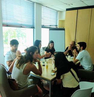 Group Italian Social Lunch at APICS