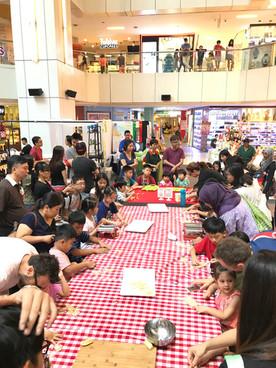 Kids cooking fun in Singapore