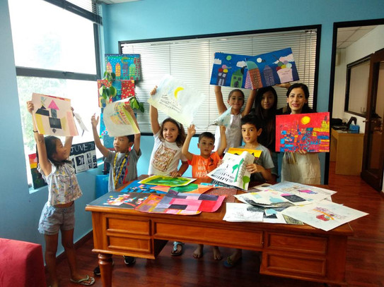 Art camp for kids in Singapore