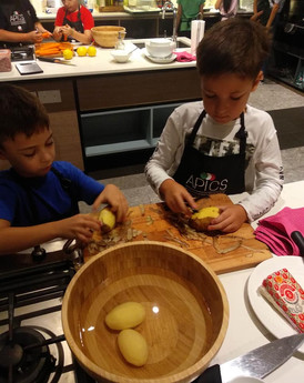Italian cooking camp for kids