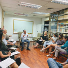 Italian visiting author talks at APICS3.