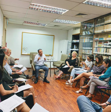 Italian visiting author talks at APICS