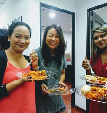 Italian social lunch in Singapore