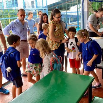 Italian School Singapore first day