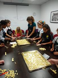 Kids making fresh pasta Singapore