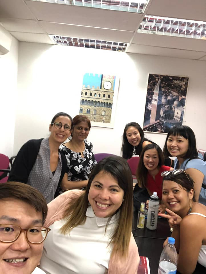 Fun group Italian activity in Singapore.