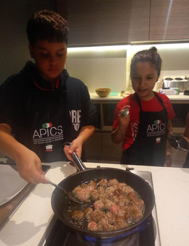 Kids cooking class Singapore