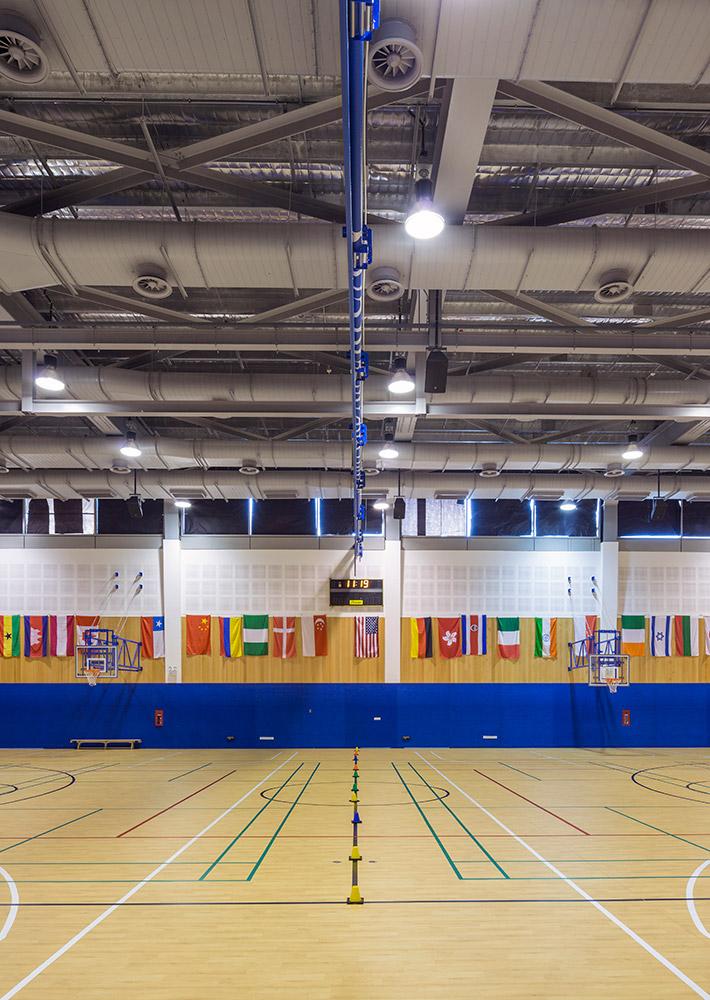 Activity hall. Photo: SAIS