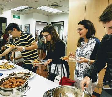 Italian social lunch at APICS