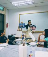 Italian teacher in Singapore