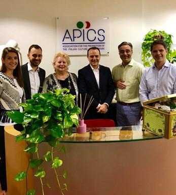 Italian Ambassador Visits APICS